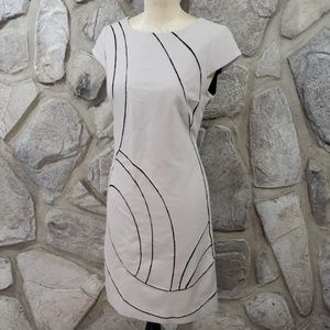 Per Se Wool Cashmere Sheath Dress